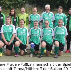 SG Tanna/Mühltroff - SG Pfaffengrün/Zobes 3:0 (1:0)