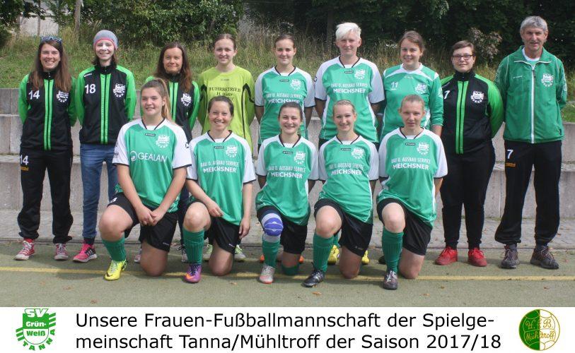 Frauen SG Pfaffengrün/ Zobes : SG Tanna/ Mühltroff  9:4 (3:1)