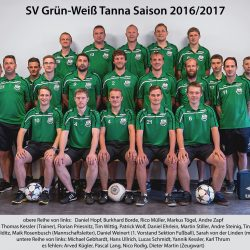 SV Gräfenwarth - SG SV Grün-Weiß Tanna 0:1 (0:0)