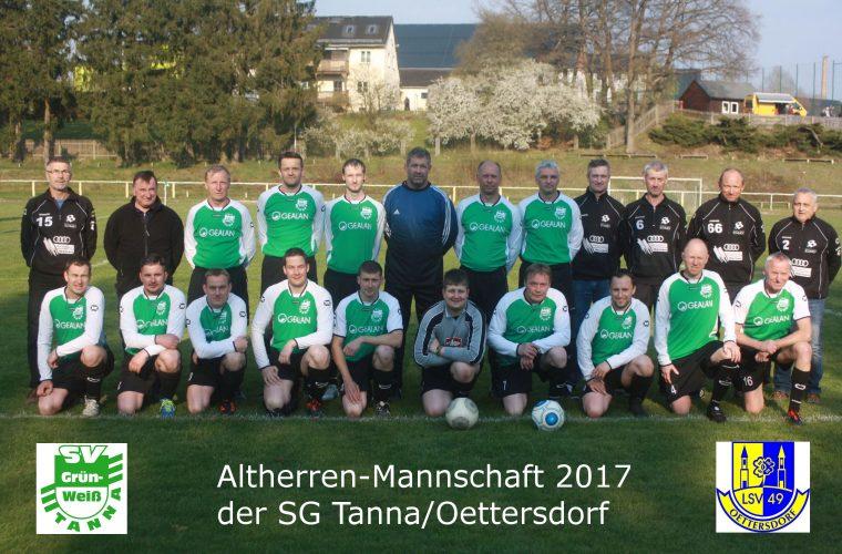 SV Grün-Weiß Triptis - SG Tanna/Oettersdorf 3:3 (2:1)