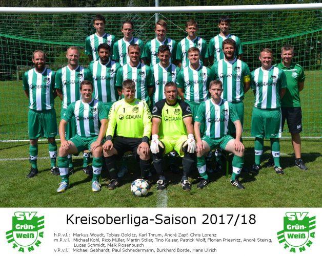 SV Lobeda 77 - SG SV Grün-Weiß Tanna 1:1 (1:0)