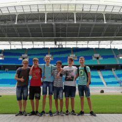 Fußballcamp in Leipzig der C-Jugend  Tanna/Oettersdorf