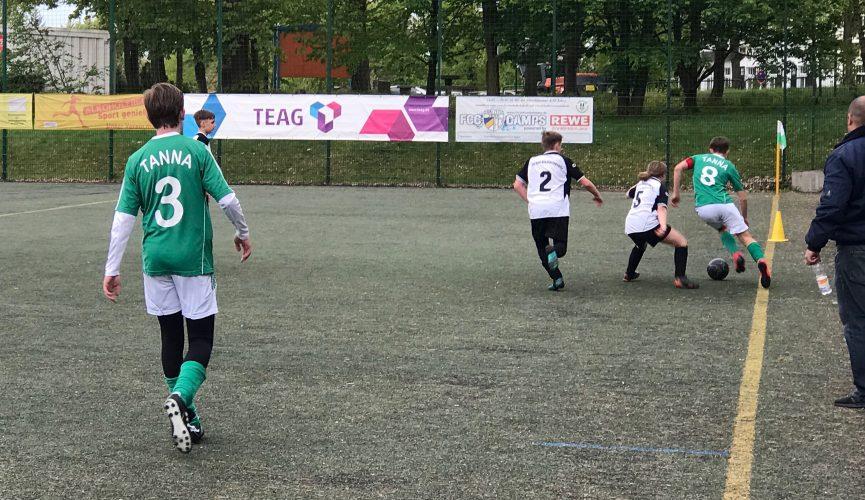 SG Bad Klosterlausnitz - SG Tanna/Oettersdorf 0:1 (0:0)