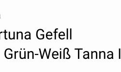 Gefell - Tanna