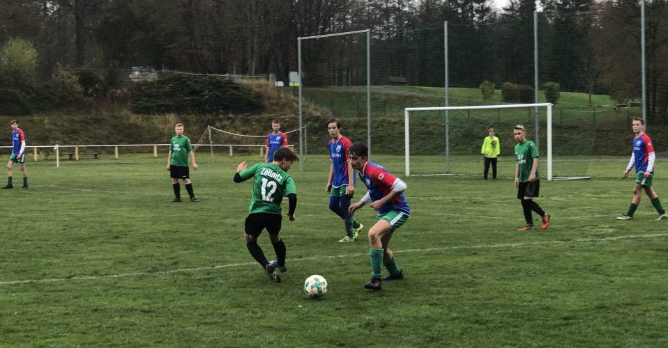 SG Tanna/Oettersdorf - FV Rodatal Zöllnitz 0:6 (0:6)