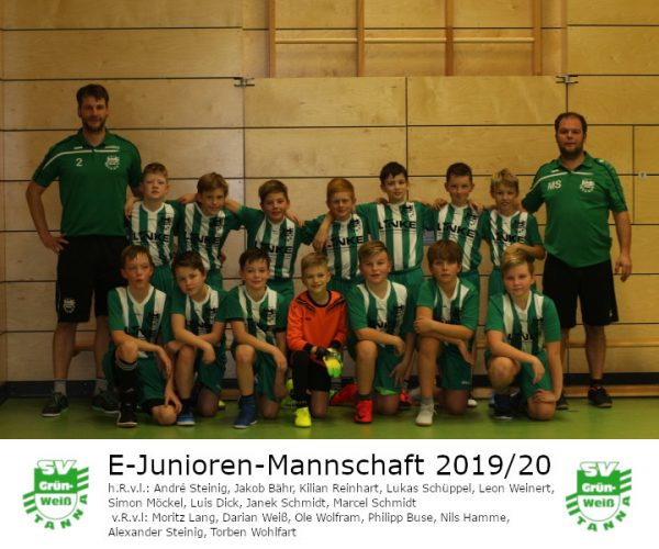 Endrunde E-Junioren in Pößneck