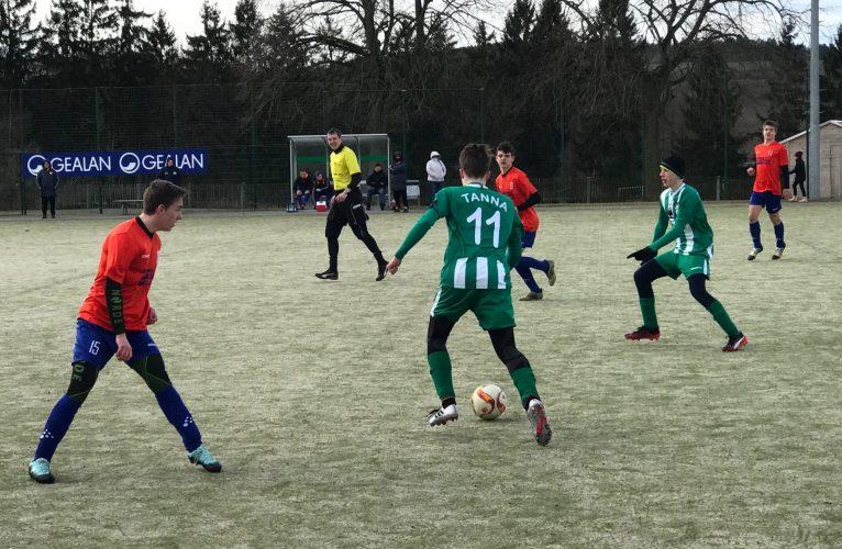 Testspiel SG Tanna/Oettersdorf - JFG Bayerisches Vogtland 5:1 (2:0)