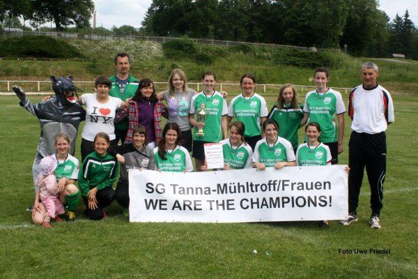 10 Jahre Frauenmannschaft SG Mühltroff/Tanna